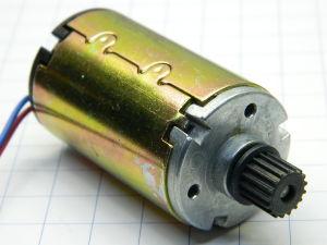 DC motor 12Vdc  6W  3.000rpm Buhler 14D 3404