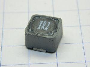 1,2uH 3,8A  induttanza SMD Matsuta SC127 1R2