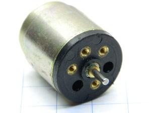 DC motor 12Vdc Faulhaber 2225U012S mm. 27x22