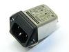 Filter SCHAFFNER FN9260-1-06 250Vac 1A,  IEC inlet, fuseholder