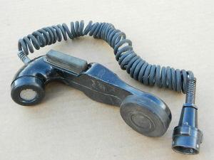 Microtelefono H-33/PT cornetta per apparati militari NATO
