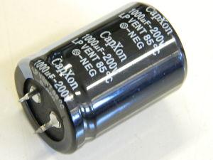 1000MF 200V capacitor Capxon LP-VENT