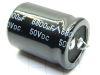 6800MF 50Vdc capacitor Nantung298 105° snap-in