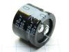 120uF 300Vcc condensatore elettrolitico Nichicon CE105° low profile snap-in