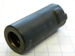 Tube shield socket 7pin mm. 22x50  #B