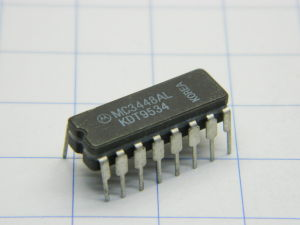 MC3448AL Motorola IC 16pin ceramic