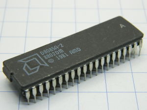 D8085A-2 AMD ceramic CPU vintage