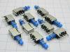 Interruttore a pulsante 1 scambio da circuito stampato schermato (n.10 pezzi)