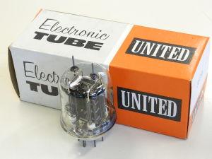 3E29 , 829 , United electron tube , valvola