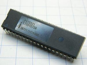 P87C521 Intel microcontroller , vintage