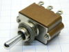 Toggle switch ON-OFF-ON  2 SPDT  10A , APR