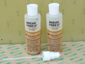 Break Free CLP , cleaner, lubricant, preservative, n.2 bottles + sprayer