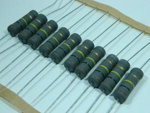 100Kohm 4W metal oxide resistenza (n.10 pezzi)
