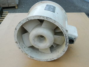 Ventilatore assiale aereo 27Vdc 20Amp , Pesco Products Div 181090-031-01
