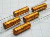 10MF 40Vdc axial capacitor ROE Gold 19x6,5  (n.5pcs.)