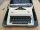 Macchina da scrivere portatile OLIMPIA CARINA  2 , vintage