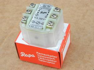 Contactor fernshalter 10A 250Vac 2 poles coil 48Vac, RAPA STR 06