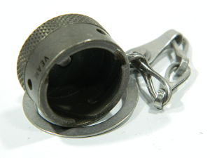 MS3181-12N dust cup cover with chain MIL std.