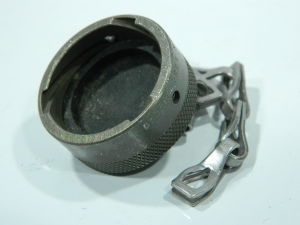 MS3181-16C dust cup cover with chain MIL std.