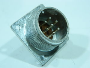 Connector AN3102-16S-1P receptable male 7 pin