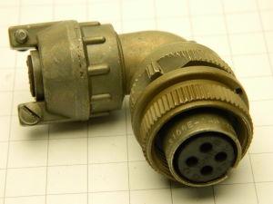 MS3108E-14S-2S (C) Bendix, connector plug female 4 pin