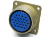MS3102A24-28S connector receptable female 24 pin gold