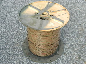 Reel telephone cable WF16-U,  1 mile mt. 1600
