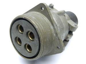 Connettore MS3100E36-5S(C)   4pin  femmina da pannello