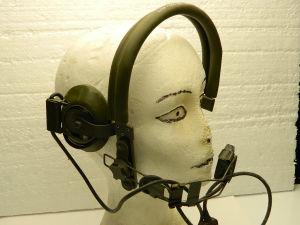 Headset H-63/U , microphone CW-292/U