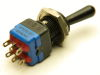 APEM 12146AK professional toggle switch ON-ON, 2DPDT