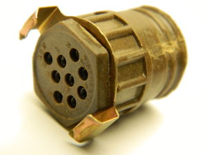 Connector Winchester M9S,  9 pin female