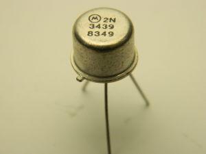 2N3439 transistor Motorola NPN 450V 1A TO39