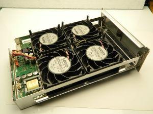 Fan 24Vdc 0,3A,  80x80x35, SERVO G0838C24B7 AS-23 (n.4pcs)
