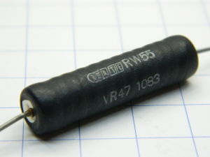 0,47ohm 10W resistor ATE RW55