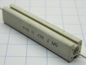 47ohm 10W resistenza RYK11