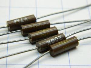 200Kohm 0,5% resistenza di precisione (n.5 pezzi)