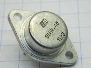 BUW46 , transistor NPN 450V 15A TO3