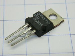 BUV46 , transistor NPN 850V 9A TO220