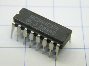 MC54HC174 , Motorola circuito integrato