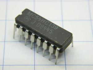MC54HC139 circuito integrato Motorola