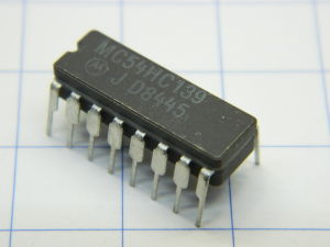 MC54HC139 integrated circuit Motorola