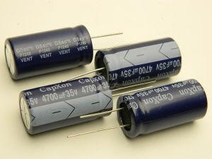 4700uF 35Vcc condensatore elettrolitico CAPXON P1240 (n. 4 pezzi)