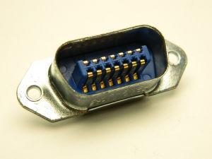 Connettore AMPHENOL 57-10140-4 ,  14pin maschio pannello, Centronics