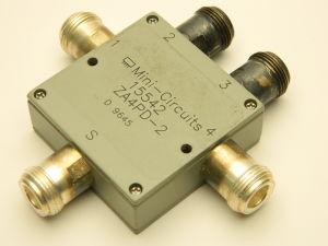 Power splitter divider MINI-CIRCUITS 15542 ZA4PD-2, 4 way, N connector