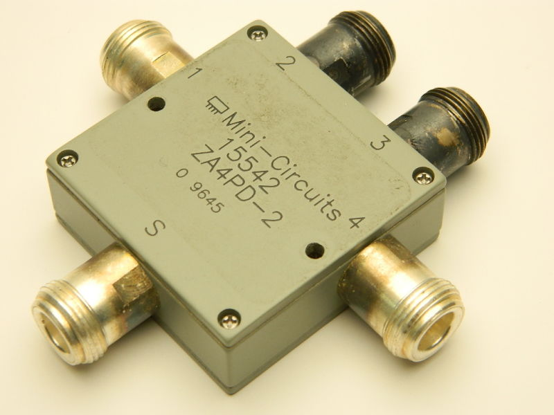 Power splitter divider MINI-CIRCUITS 15542 ZA4PD-2, 4 way, N