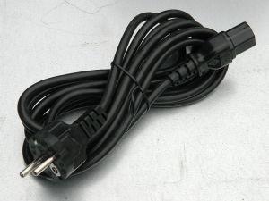 Cavo alimentazione mt.3 , spina Schuko - presa IEC C13, 3xAWG18 (1mmq.) ,server UPS