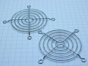 Pair fan grid mm. 80x80