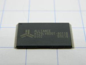 AS29LV800T-80TIB 1Mx8bit flash memory 3V 80nS  TSOP