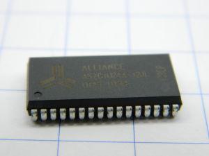 AS7C1024A-12JI  128Kx8bit  SRAM memoria  5V  12nS  SOJ