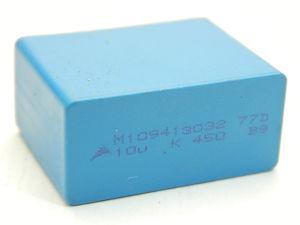 10uF 450Vdc capacitor MKP polypropylene EPCOS B9